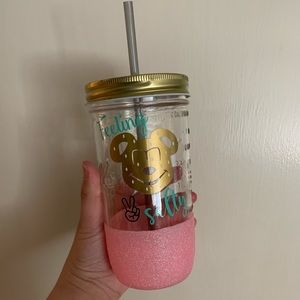 Feeling Salty? Mason jar glass.